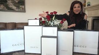 BUYING MY WIFE $10,000 OF GUCCI FOR HER BIRTHDAY!! | MAMA RUG AND PAPA RUG