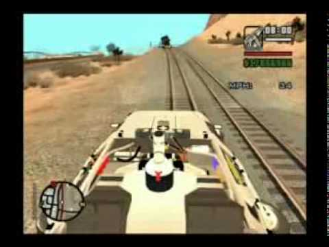 GTA: SA DeLorean Railroad Mod(Video 3)
