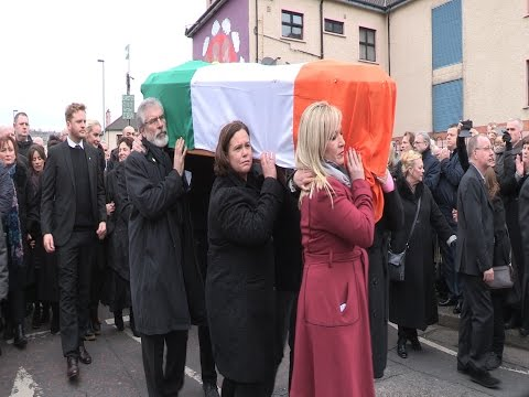 Gerry Adams oration at the graveside of Martin McGuinness