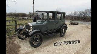 Ford Model T 1927 fordor.