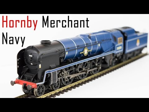 Unboxing the Hornby Merchant Navy Class