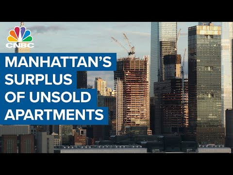 Manhattan Experiencing Surplus Of Unsold Apartments As Sales Contracts Plunge