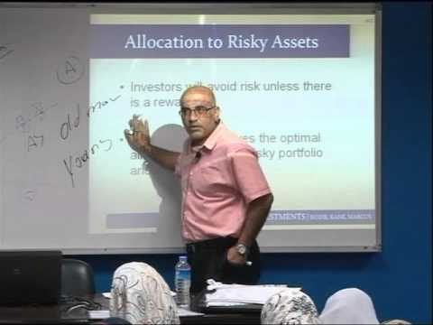 Chapter6: Risk Aversion and  Capital Allocation - 1