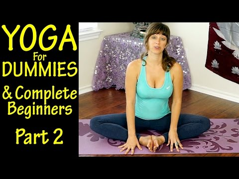 Yoga For Dummies & Complete Beginners Part 2 Flexibility & Low Back Pain At Home Workout
