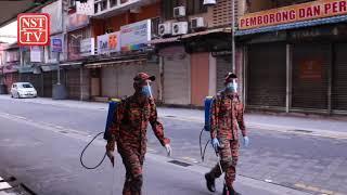 Jalan TAR and Masjid India areas undergo sanitisation process