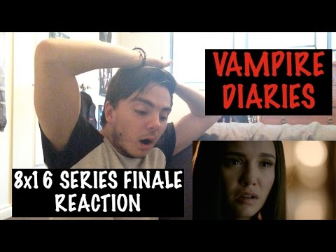 VAMPIRE DIARIES - 8x16 'I WAS FEELING EPIC' (SERIES FINALE) REACTION