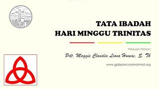 Mei 30, 2021 - IHM - Tata Ibadah Hari Trinitas