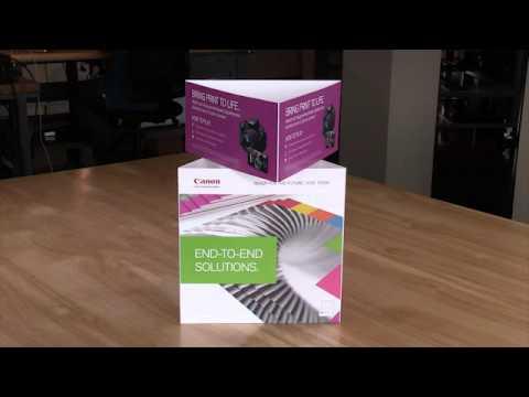 Trekk AR CSA Xplor Table Tent YouTube - Cardboard table tents