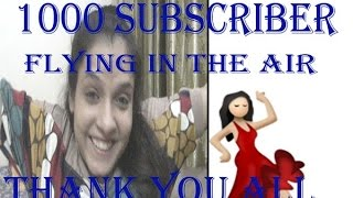 My Heartiest Thanks to All My Valuable Subscribers | 1000 subscriber OMG 😱😱 | FitnessBeautyMantra| thumbnail