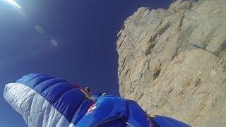10007_#2 Valery Rozov Base Jump Wingsuit Dent du Géant Chamonix Mont-Blanc massif
