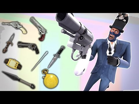 TF2 - Lets Name Weapons | Spy's Weapon Names