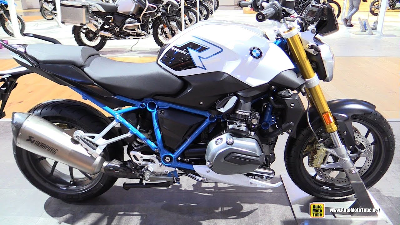 2017 BMW R1200R - Walkaround - 2016 EICMA Milan - YouTube