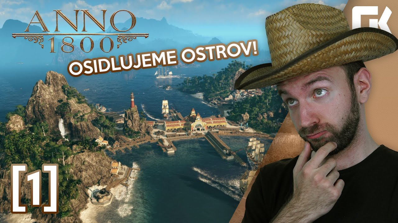 OSIDLUJEME OSTROV!   Anno 1800 #01