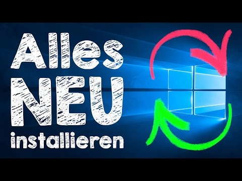 Windows 10 neu installieren 👍 Tutorial:...