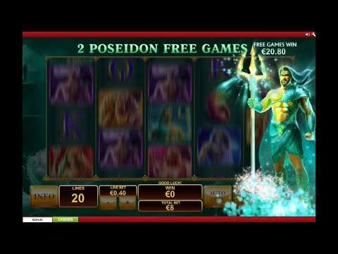 Age Of The Gods Bonus Feature  (BIG WIN)
