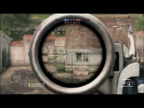 SHAREfactory BF1 BACK AT SNIPING I DID PRETTY GOOD HAVEN'T BEEN ON THE GAME IN AWHILE