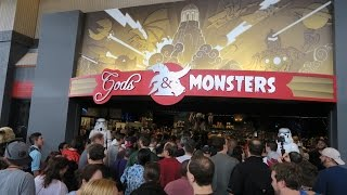 The Grand Opening Of Gods & Monsters at Artegon Marketplace