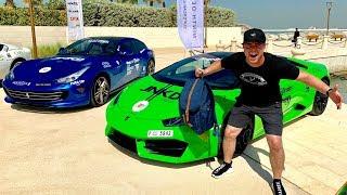 LAMBORGHINIS SHUT DOWN STREETS OF DUBAI!