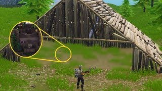 *NEW* I Found A SECRET Base On Spawn Island.. (Fortnite)
