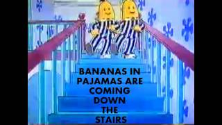 BANANAS IN PAJAMAS THEME & LYRICS