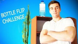 БУТЫЛКА ВОДЫ ЧЕЛЛЕНДЖ - BOTTLE FLIP CHALLENGE - РусланЧик