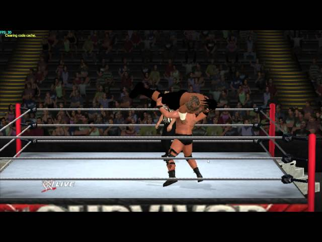 Umaga hacked caw wwe'13 wii ps2 psp Travel Video