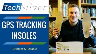 GPS Tracking Insoles / Inserts For Shoes (GPS Smartsole - Discrete Dementia Tracker)