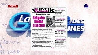 LA REVUE DES GRANDES UNES DU MARDI 07 AOUT 2018 EQUINOXE TV