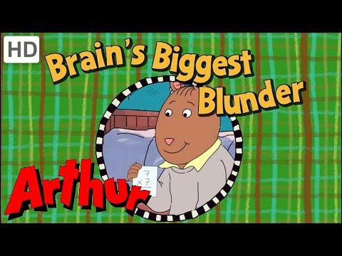 Arthur (Full Episode - HD) Brain's Biggest Blunder - Season 16, Episode 7B