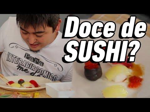 DOCE QUE PARECE SUSHI - Guloseima JAPONESA - André Santi