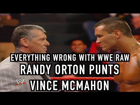 Episode #389: Everything Wrong With WWE Raw: RANDY ORTON PUNTS VINCE (2009)