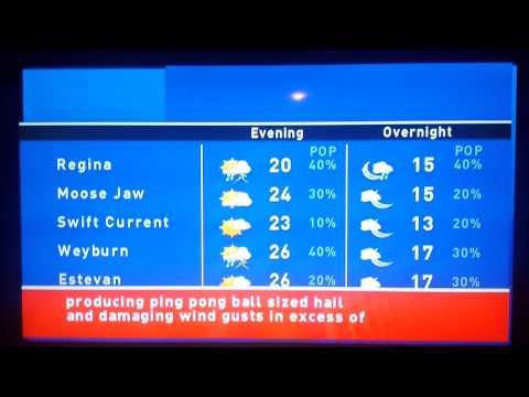 The Weather Network Local Forecast For Regina, SK