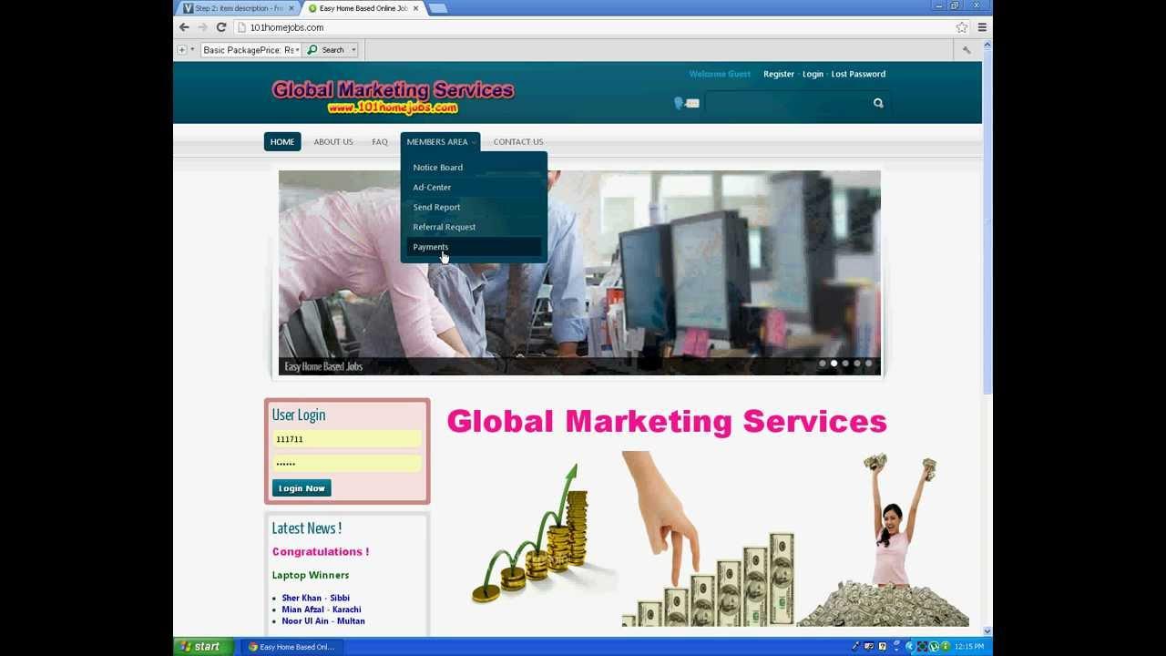 easy online job work payment guaranteed homejobs com easy online job work payment guaranteed 101homejobs com
