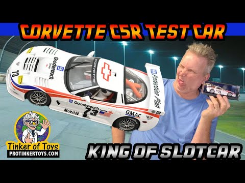 Corvette C5R Test Car | E-121 | Fly Car