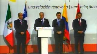 Declaración Conjunta Presidentes de la Alianza del Pacífico