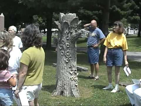 Woodlawn Cemetery 160th anniversary tour - part 1