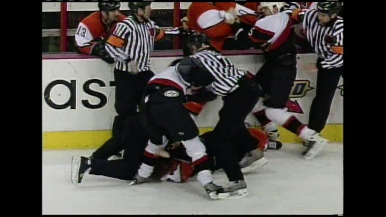 Sens Rewind: Revisiting the 2004 Senators-Flyers Brawl