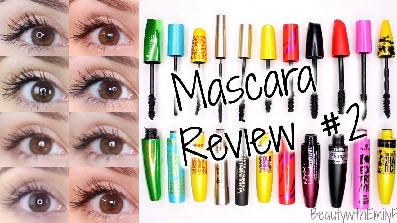 d02c18ce204 Mascara Reviews || BEST & WORST|| Drugstore + EYE PICTURES - YouTube
