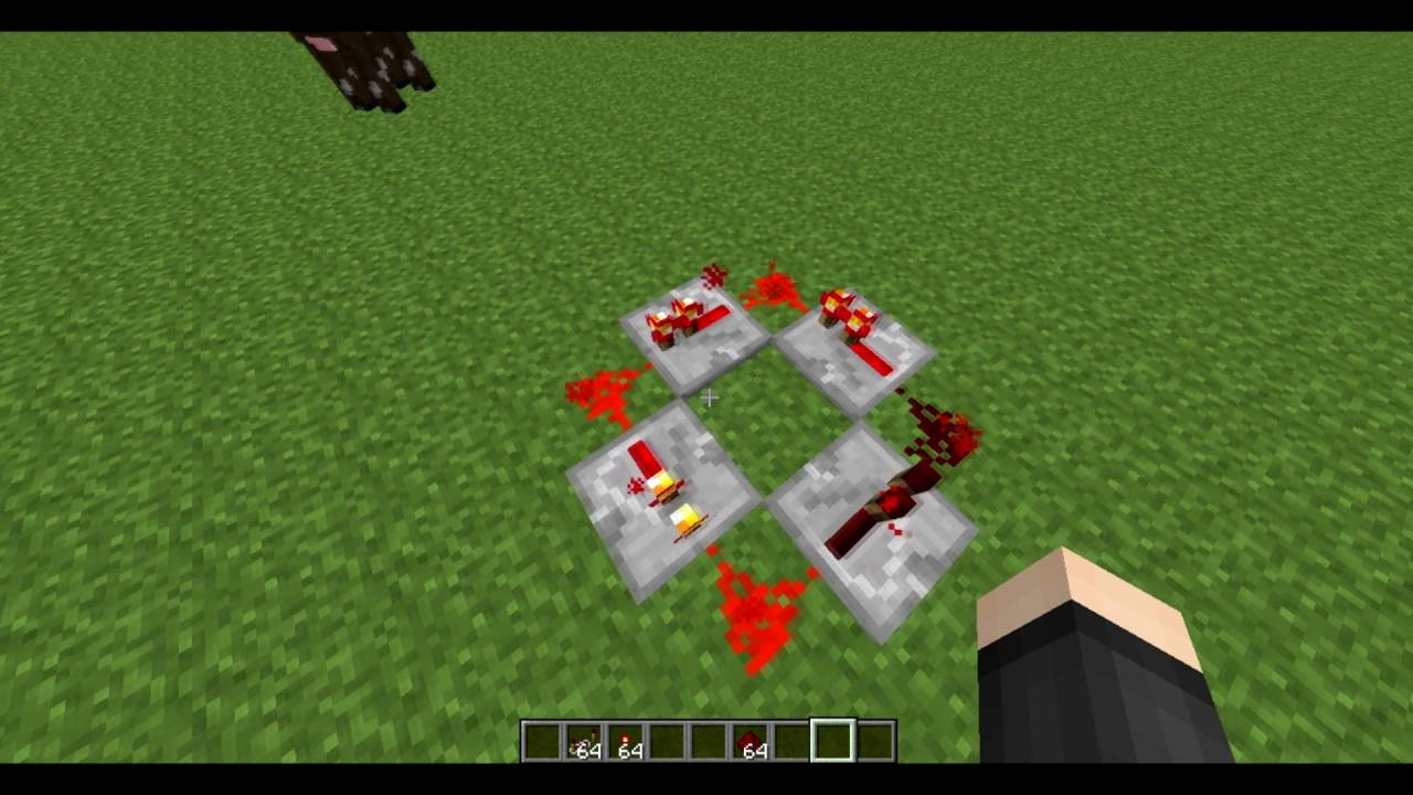 tutorial how to make an infinite loop with redstone repeaters rh youtube com