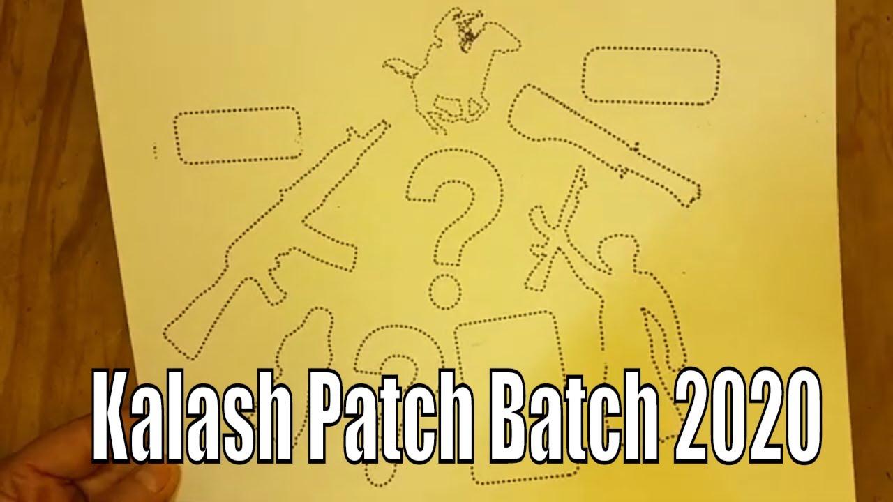 Kalash Patch Batch 2020