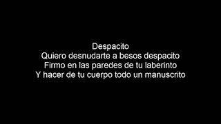 Luis Fonsi Despacito Lyrics