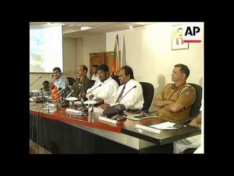 Sri Lankan Cease Fire Officially Ends Slmm Presser Minister