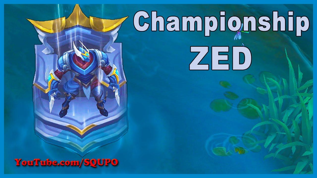 Championship Zed Price