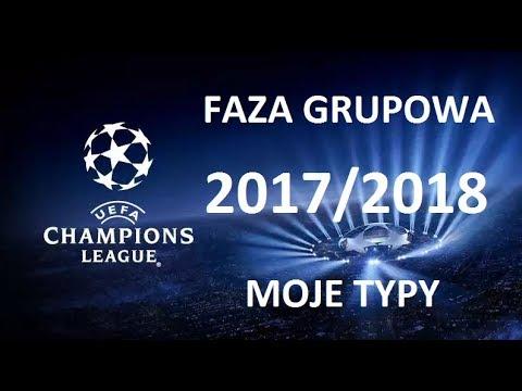 LIGA MISTRZÓW 2017/2018 FAZA GRUPOWA - MOJE TYPY