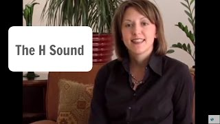 how to say the english h sound pronunciation lesson