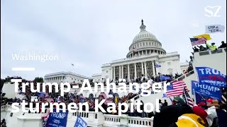 USA: Trump-Anhänger stürmen Kapitol