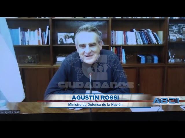 (Adelanto) Agustín Rossi, ministro de Defensa de la Nación - ABC1 25 10 2020