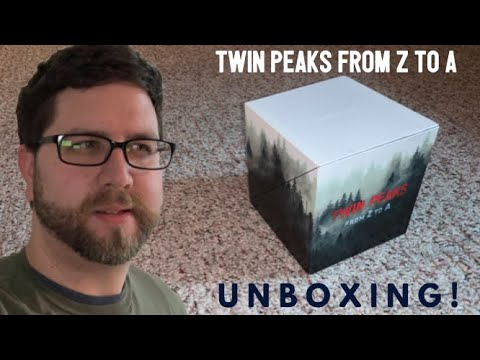 Twin Peaks From Z To A Unboxing!