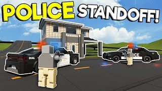 LEGO POLICE STANDOFF & CHASE IN LEGO CITY! - Brick Rigs Multiplayer Gameplay - Cop Roleplay