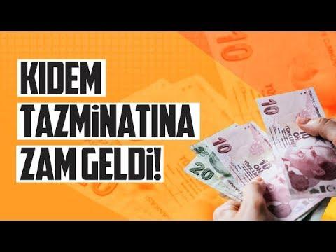 Kıdem Tazminatına Zam Geldi: 2019 Kıdem Tazminatı Nasıl Hesaplanır?